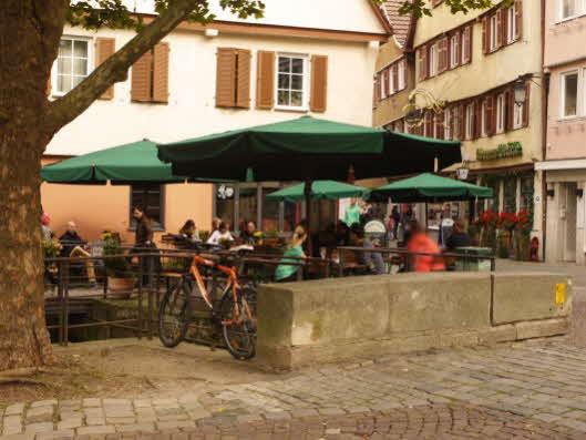 Krumme Brücke Tübingen